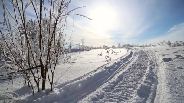 Zimní silniční skútr