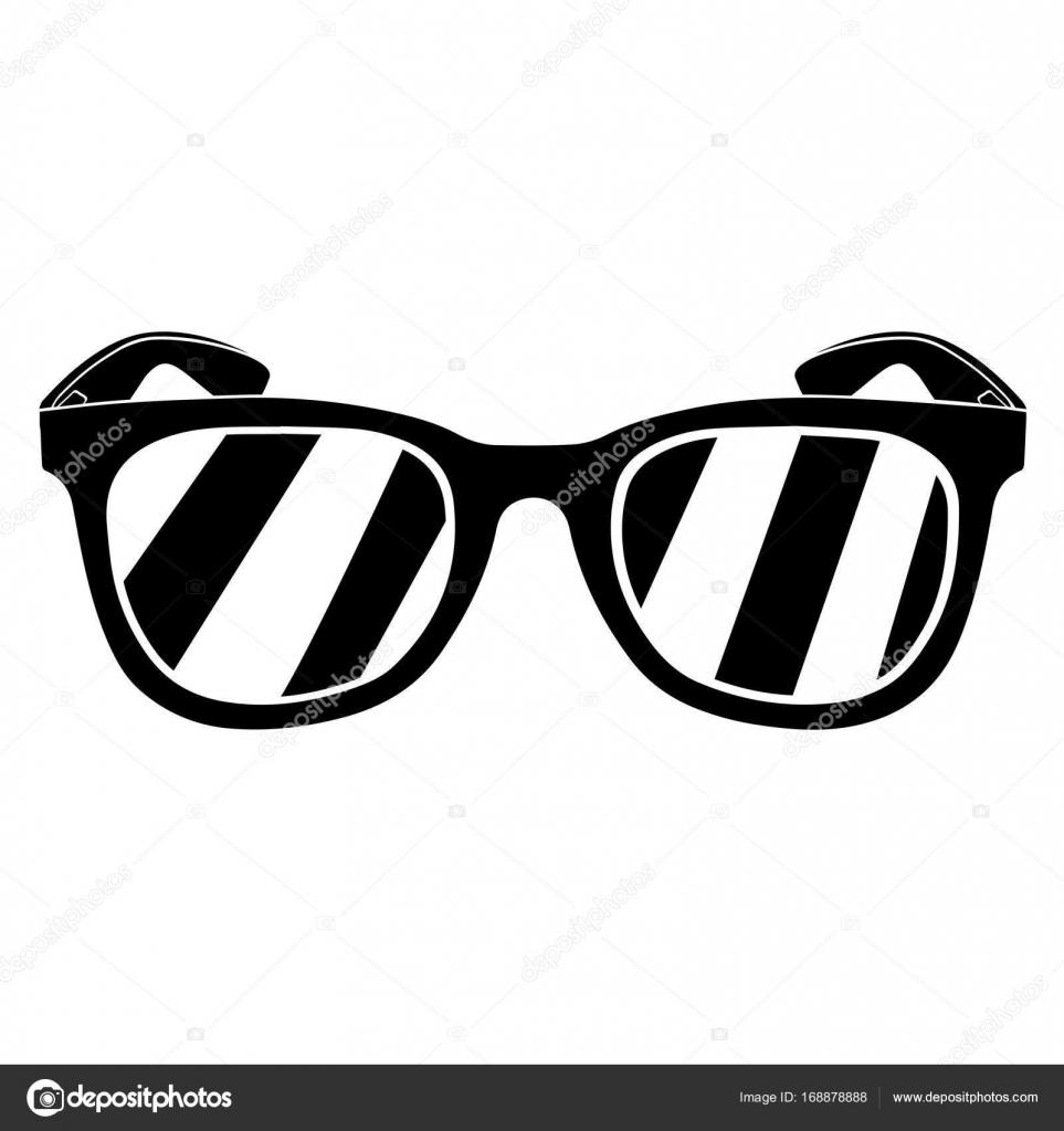 b7dbd0baf2bba8 Maxi bril silhouet — Stockvector © LAUDiseno  168878888