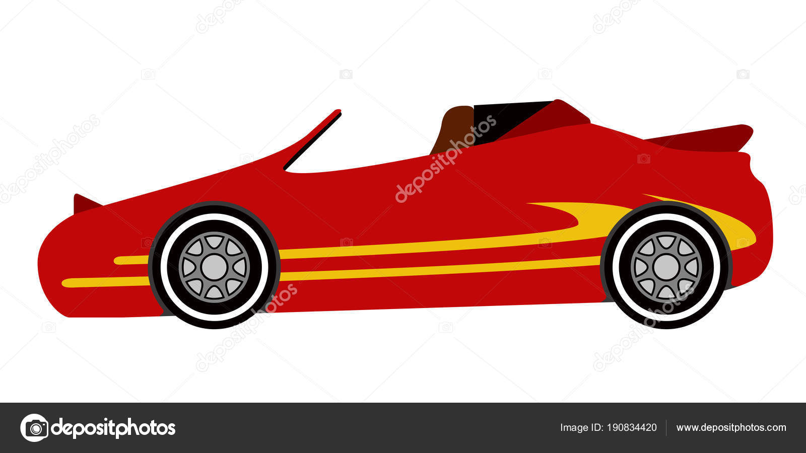 Isolated old racing car icon — Stock Vector © LAUDiseno #190834420