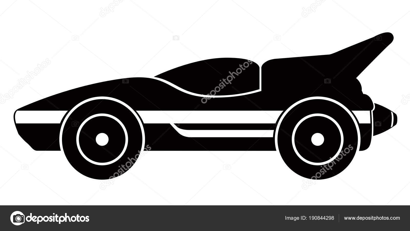 Isolated old racing car icon — Stock Vector © LAUDiseno #190844298