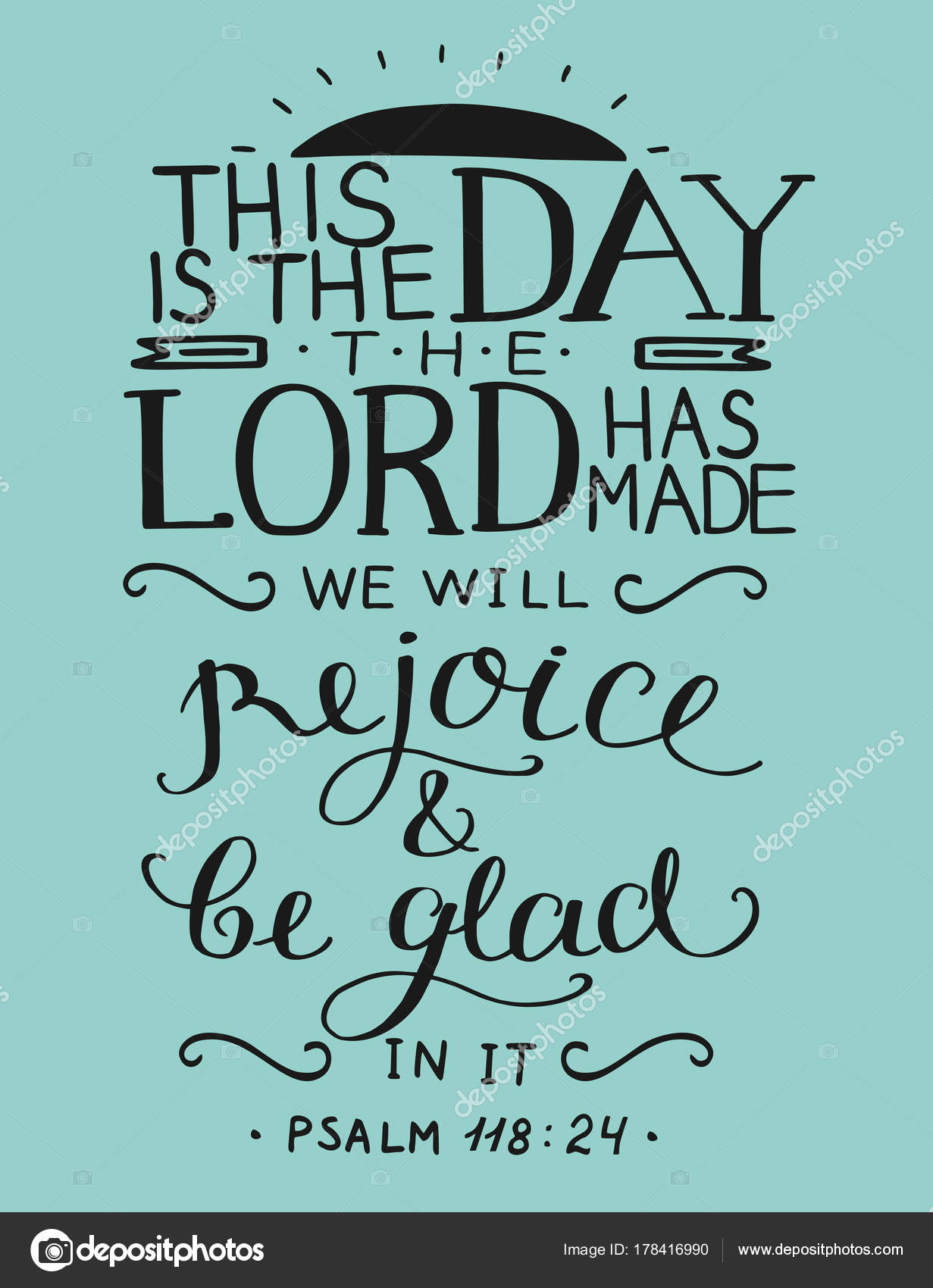 Images: this is the day the lord has made | Bible verse This