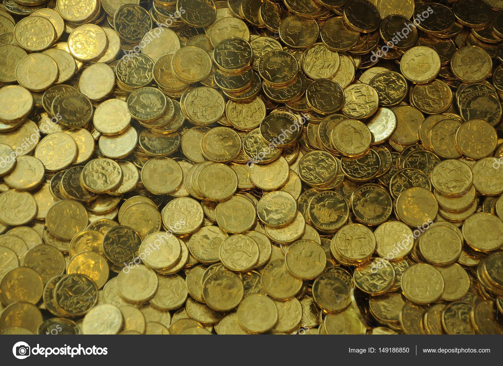 Australien 1 Dollar Münzen Stockfoto Viditaste At Gmailcom 149186850