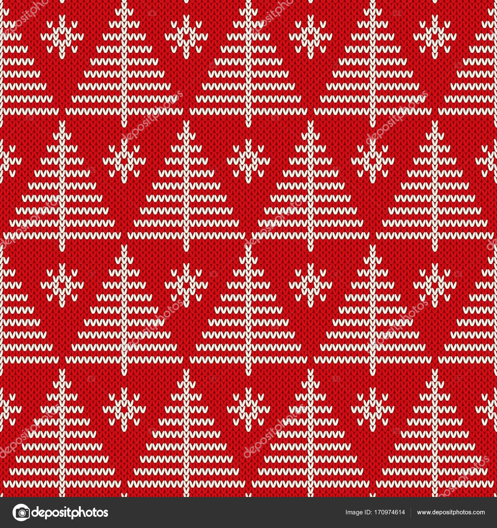 Vacaciones de invierno punto patrón con un árbol de Navidad. Diseño ...