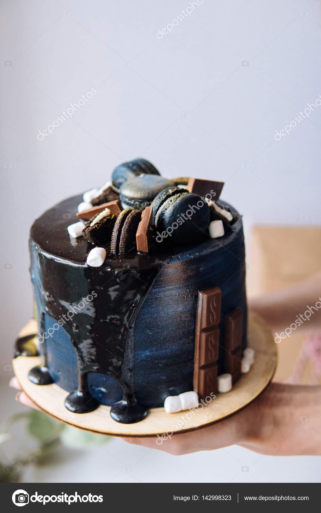 Beautiful Designer Chocolate Cake Stock Photo C Simbiothy 142998323