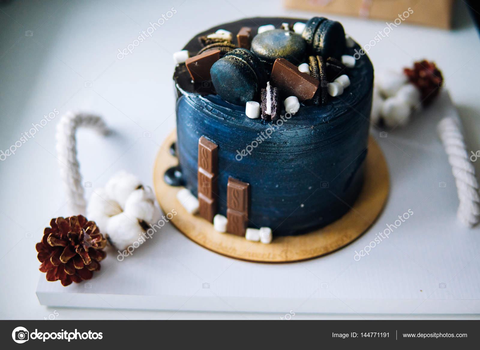 Beautiful Designer Chocolate Cake Stock Photo C Simbiothy 144771191