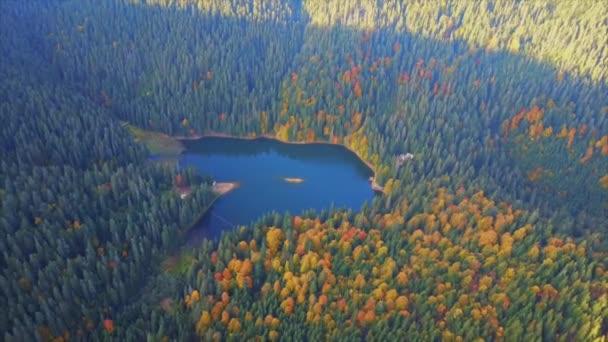 Légi felülnézet-tó