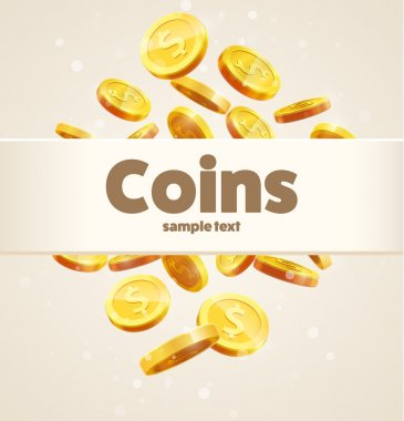 gold coins template