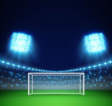 football stadium banner