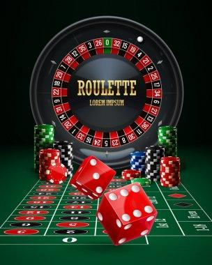roulette casino banner