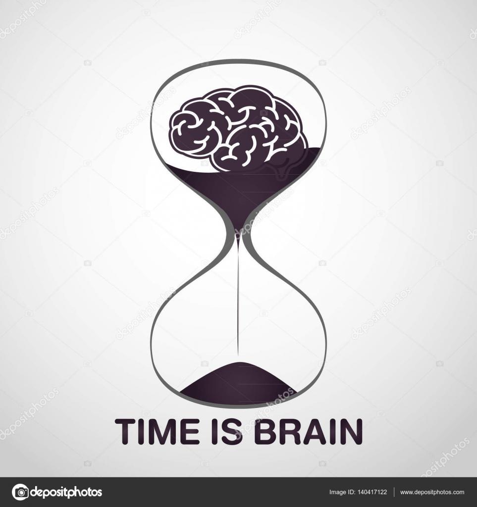carrera dise241o de icono de vector de logotipo de cerebro