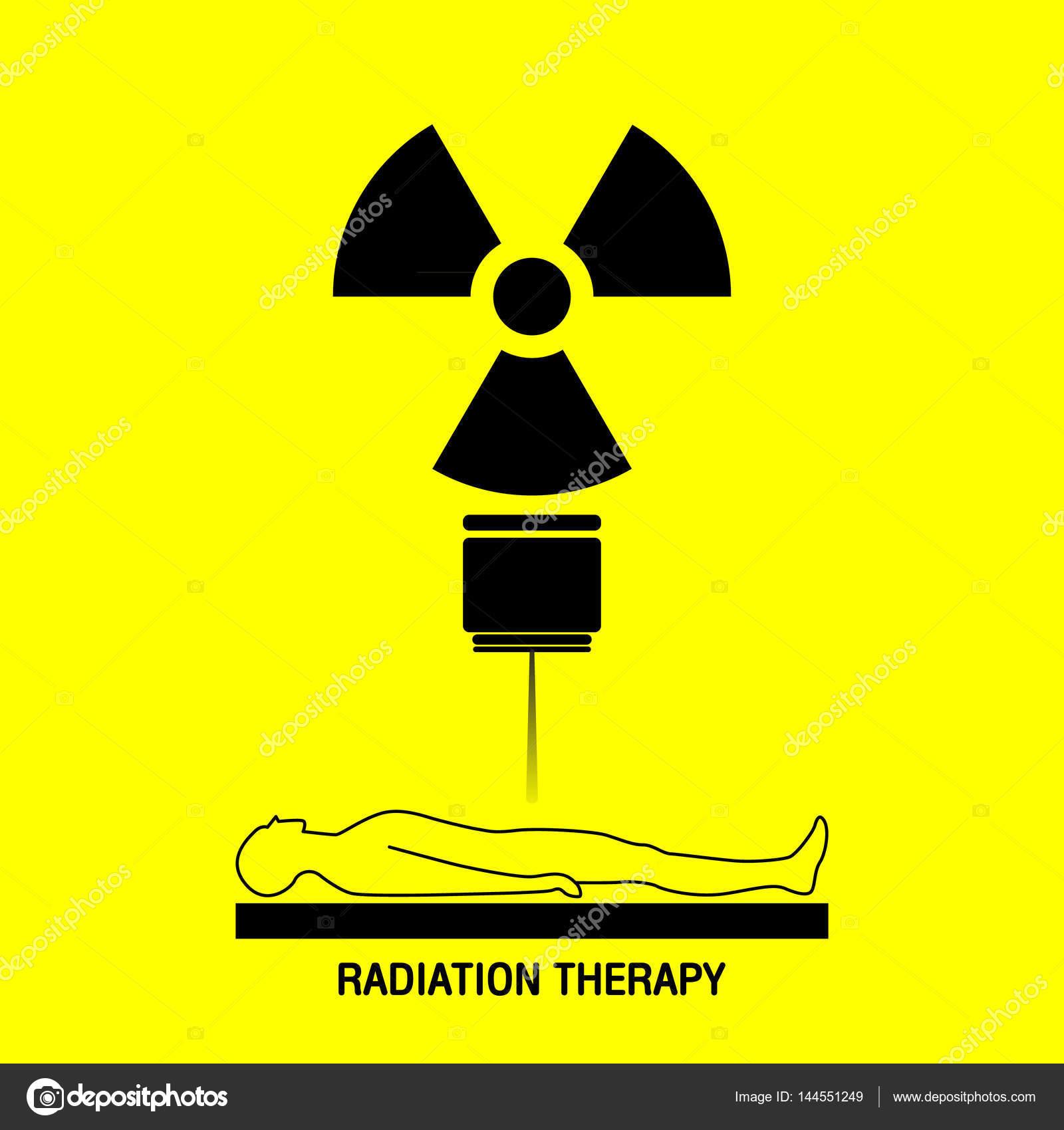 terapia de radia u00e7 u00e3o m u00e9dica logo vector  u00edcone do design  u2014 vetores de stock  u00a9 ilovecoffeedesign