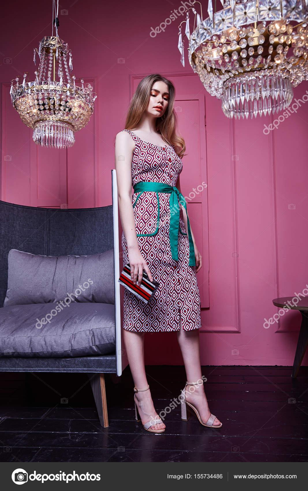 Sexy Lady Kleidung für Büro Stil zufälligen Begegnung feiern ...