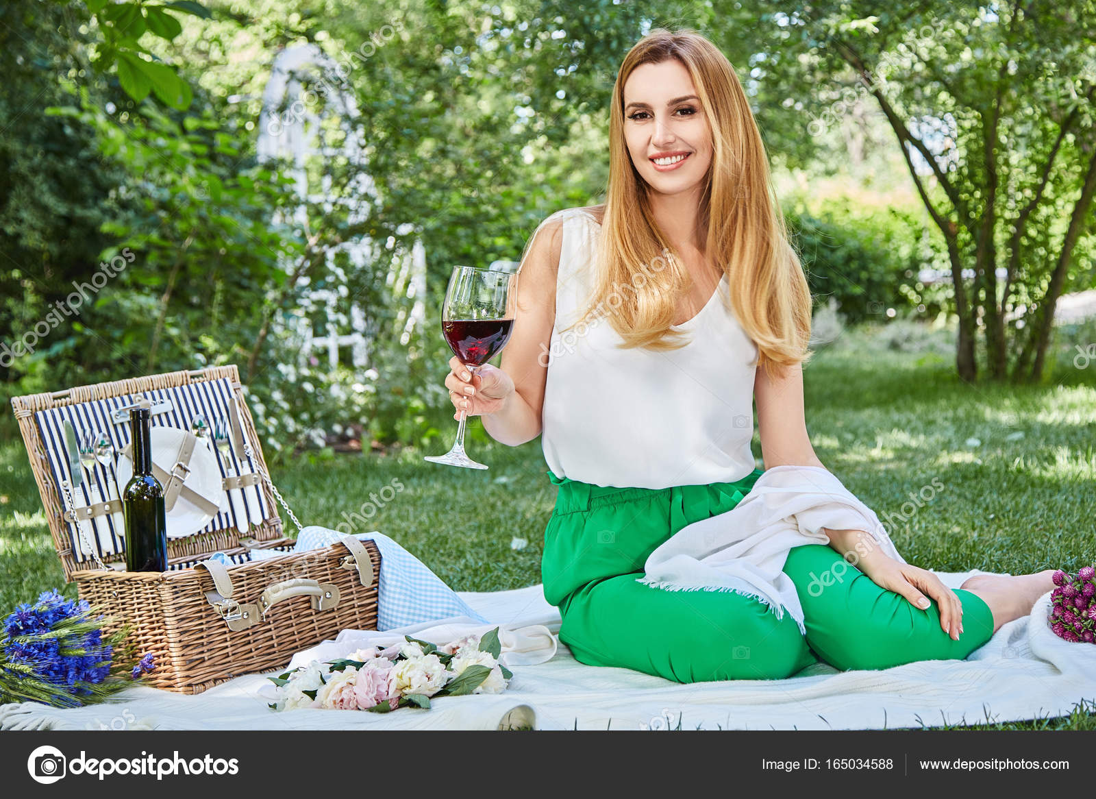 Excellent sexy photos of woman on picnic consider, that