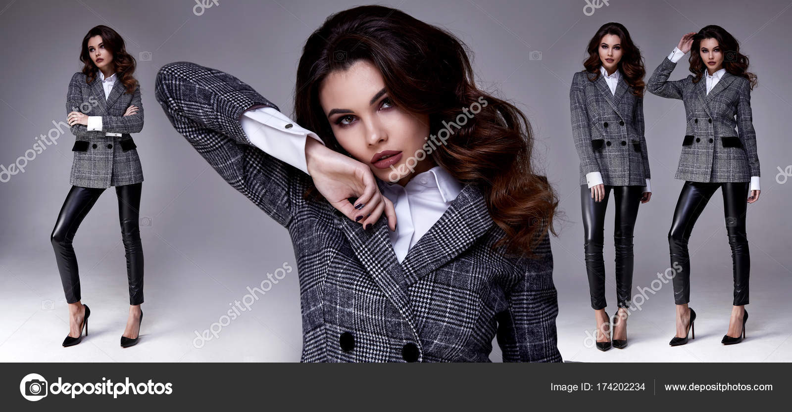 Nous Cheveux Fashion Jolie Modèle Sexy Femme Brune Belle qP0wAZ