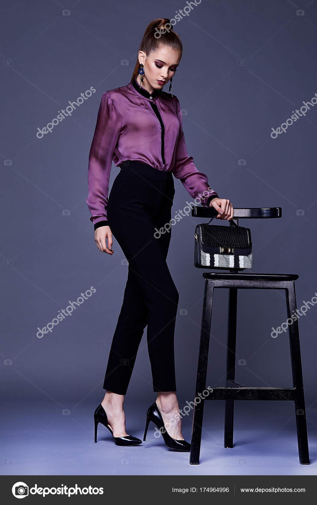Сексуальные брюки и блузки
