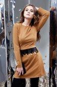 Krásná žena sexy dáma jarní podzimní kolekce glamour model