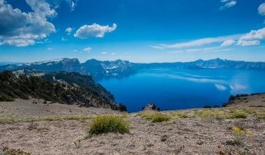Crater Lake From Cloudcap Lookout