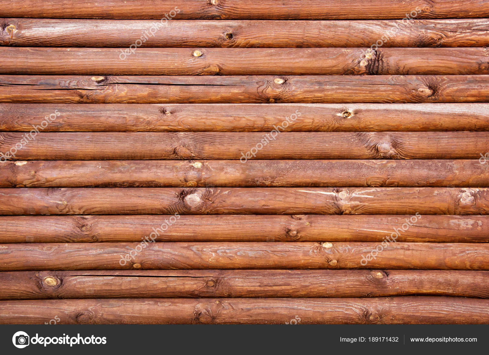 Parede Madeira Logs Fotografias De Stock Nataliiak 189171432 -> Foto De Parede De Madeira