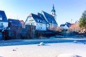 Fotografie St. Peters Church, Weilheim / Teck im Wnter