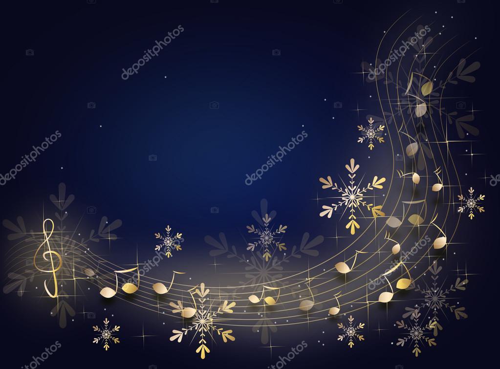 Christmas Music Background.Christmas Music Background Stock Photo C Sidliks 126019434