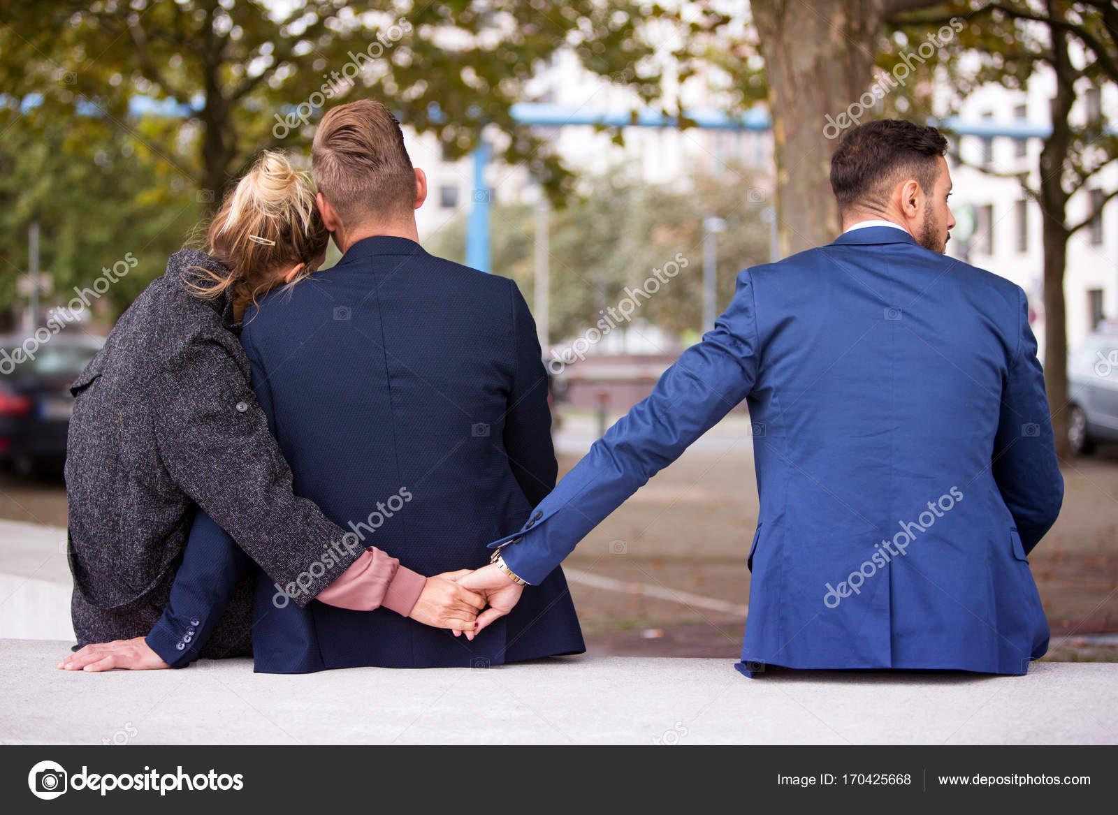 vrouw met andere man