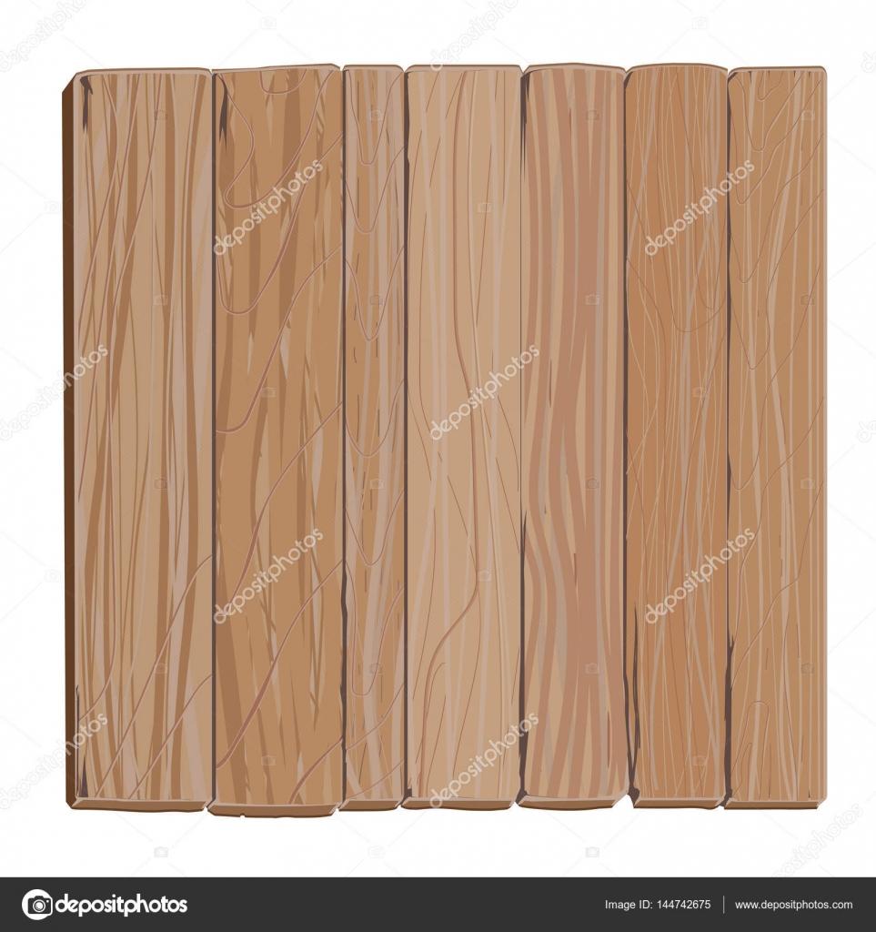 Dibujos animados de tablero de madera — Archivo Imágenes Vectoriales ...