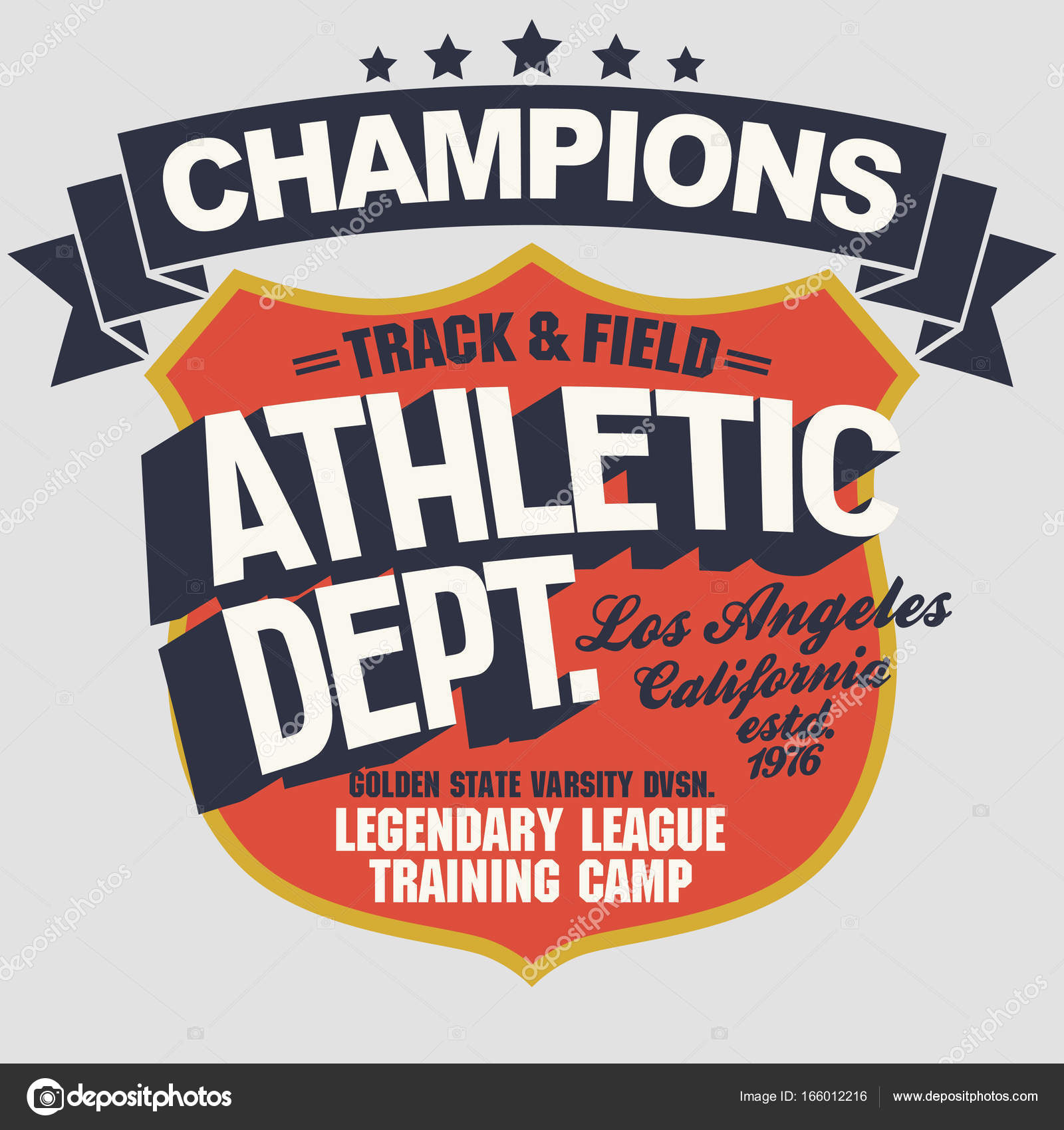 1a099ac9 California Sport wear typography emblem, t-shirt stamp graphics, tee print, athletic  apparel design — Vector by ...