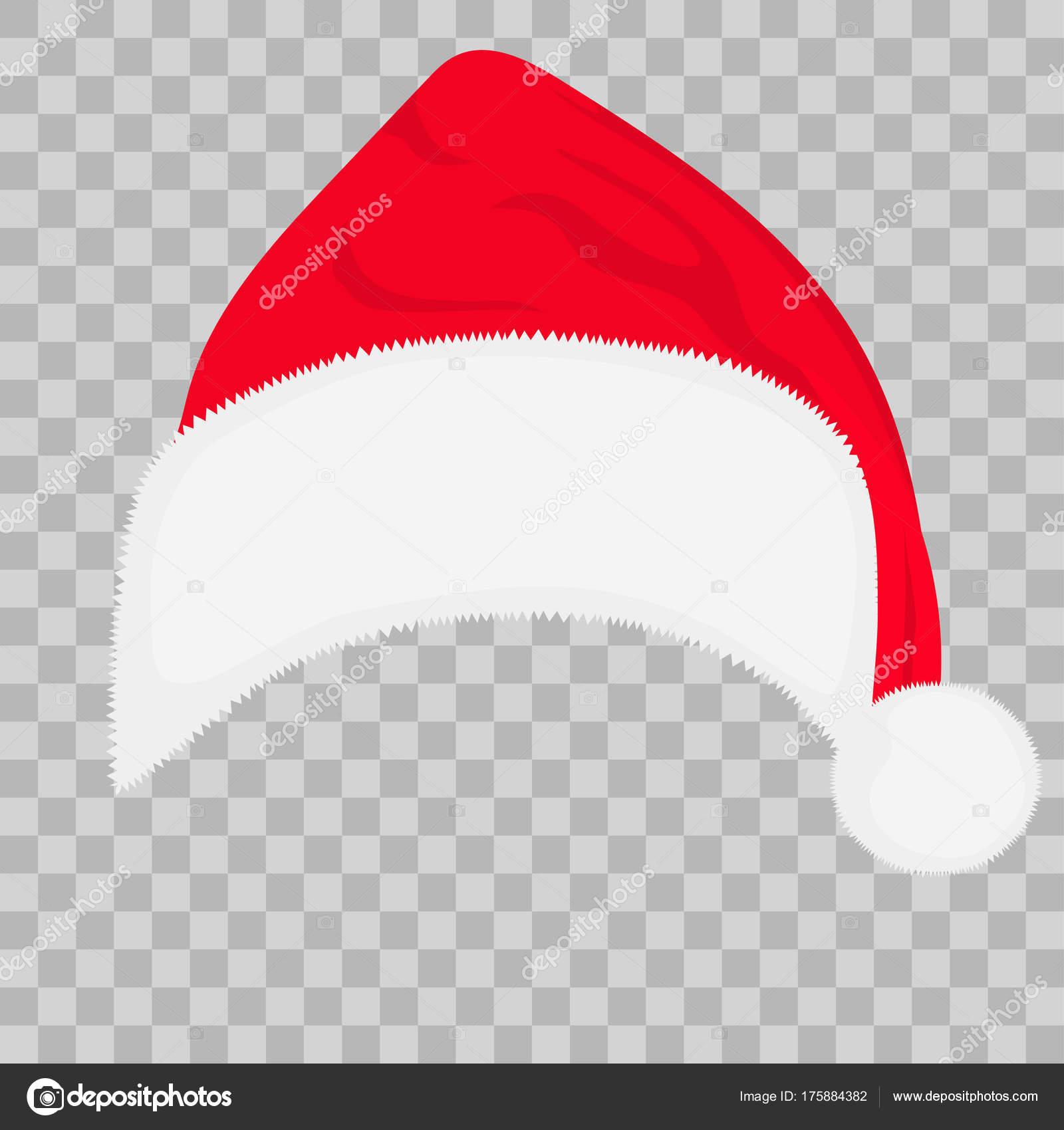 Background santa hat transparent