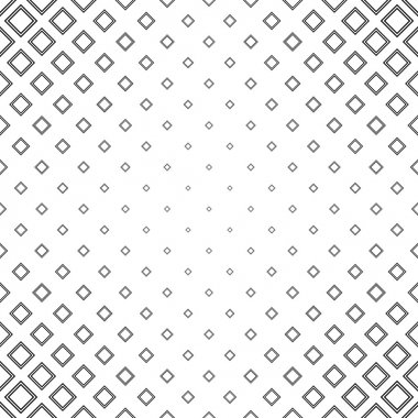 Abstract black and white square pattern background clip art vector