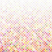 Fényképek Többszínű dot háttér - vektor-illusztráció