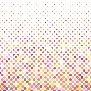 Multicolor dot background - vector illustration
