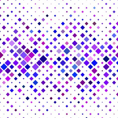Colorful horizontal square pattern background