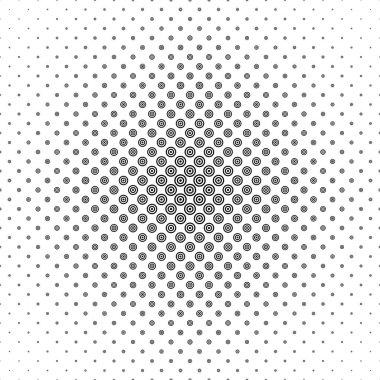 Black and white circle pattern design