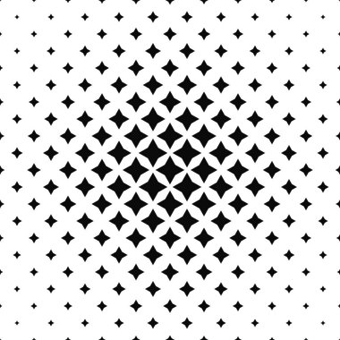 Black and white abstract polygon pattern