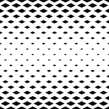 Abstract monochrome rhombus pattern background