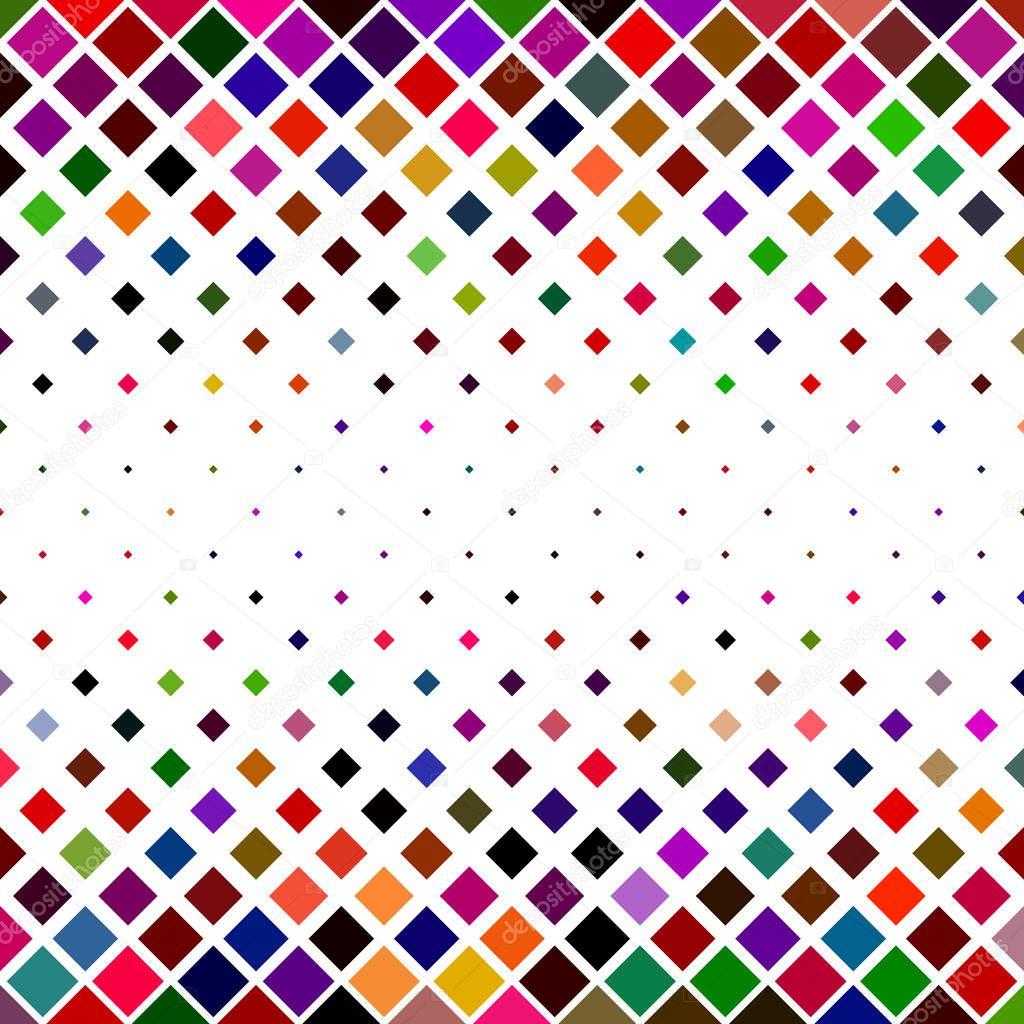 Colorful Square Pattern Border Background Design Stock