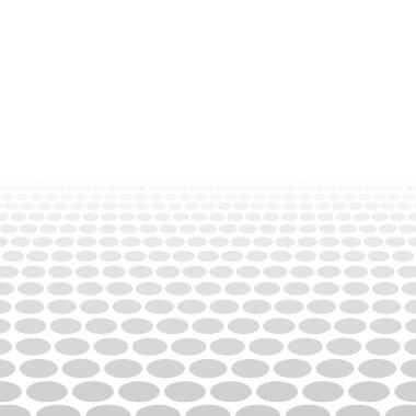 Grey white 3d circle background