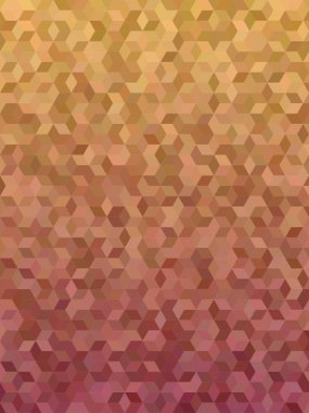 Abstract 3d cube mosaic background design
