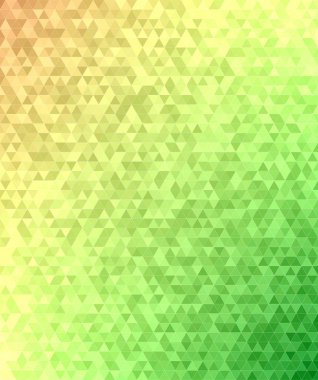 Abstract triangle mosaic transition background