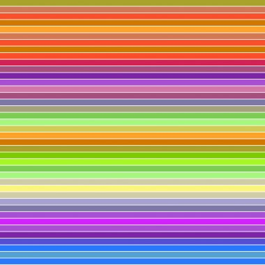 Colorful horizontal line pattern background