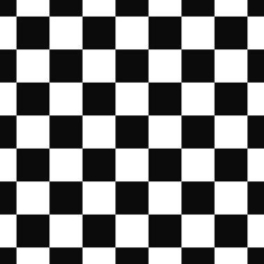 Seamless black and white square pattern design