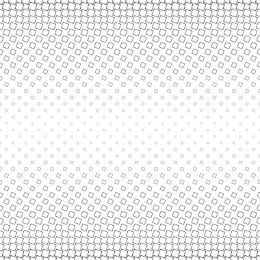Abstract monochrome angular square pattern