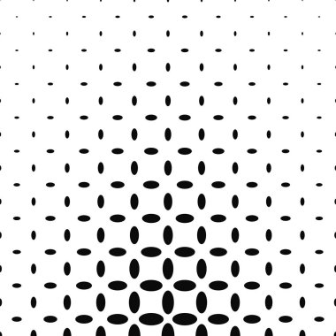Black and white ellipse pattern background