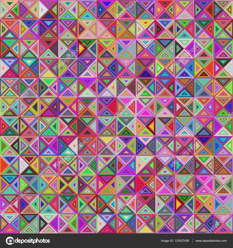 Dise o de fondo de mosaico abstracto tri ngulo regular for Disenos para mosaicos