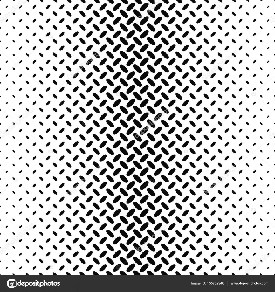 Black and white ellipse pattern background — Stock Vector ...