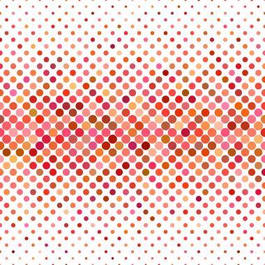 """Картина, постер, плакат, фотообои """"Цветной круг фон модель - геометрические Векторный дизайн от точек в красных тонах"""", артикул 163418834"""