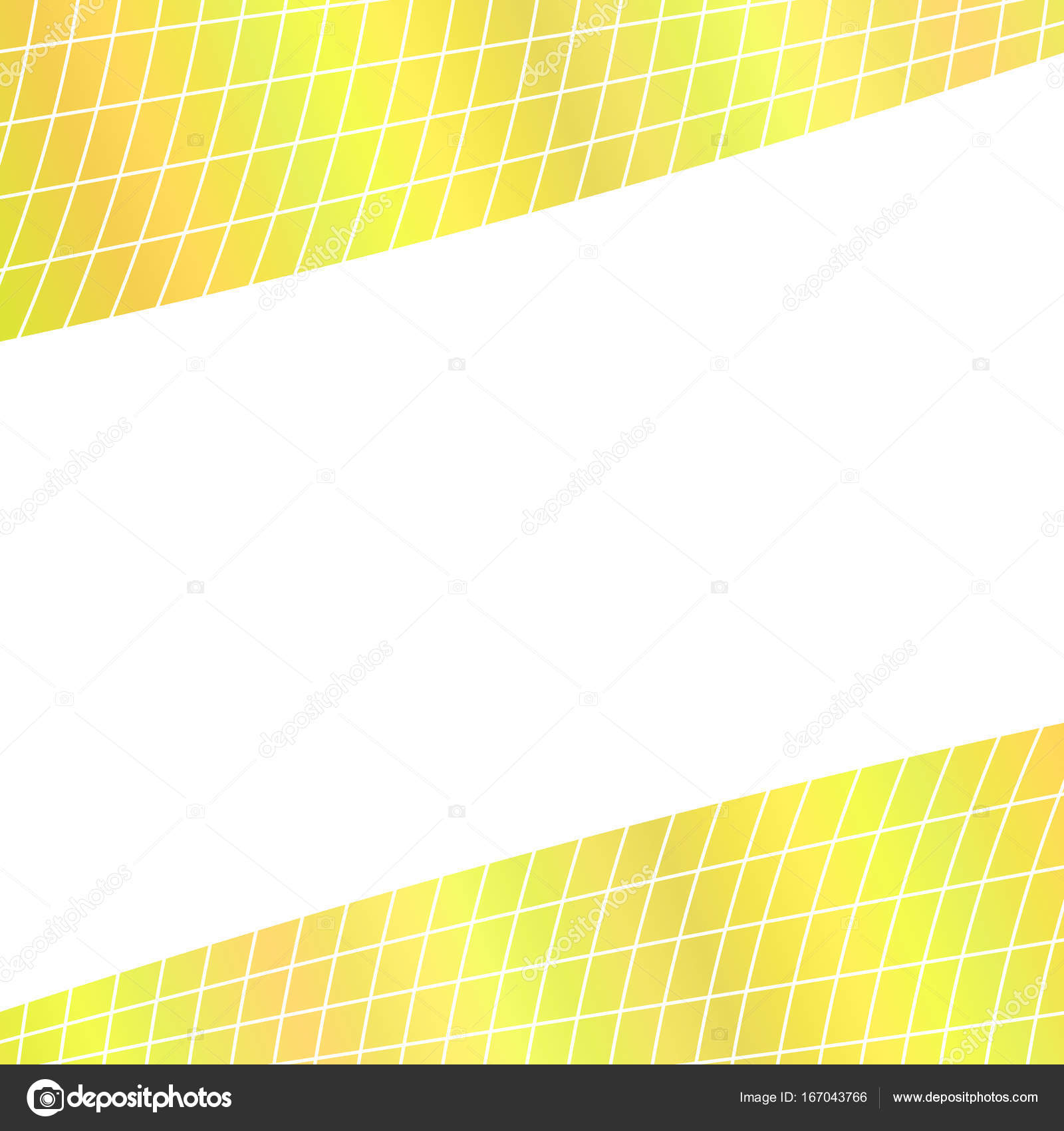 Abstract grid background - illustration from curved angular