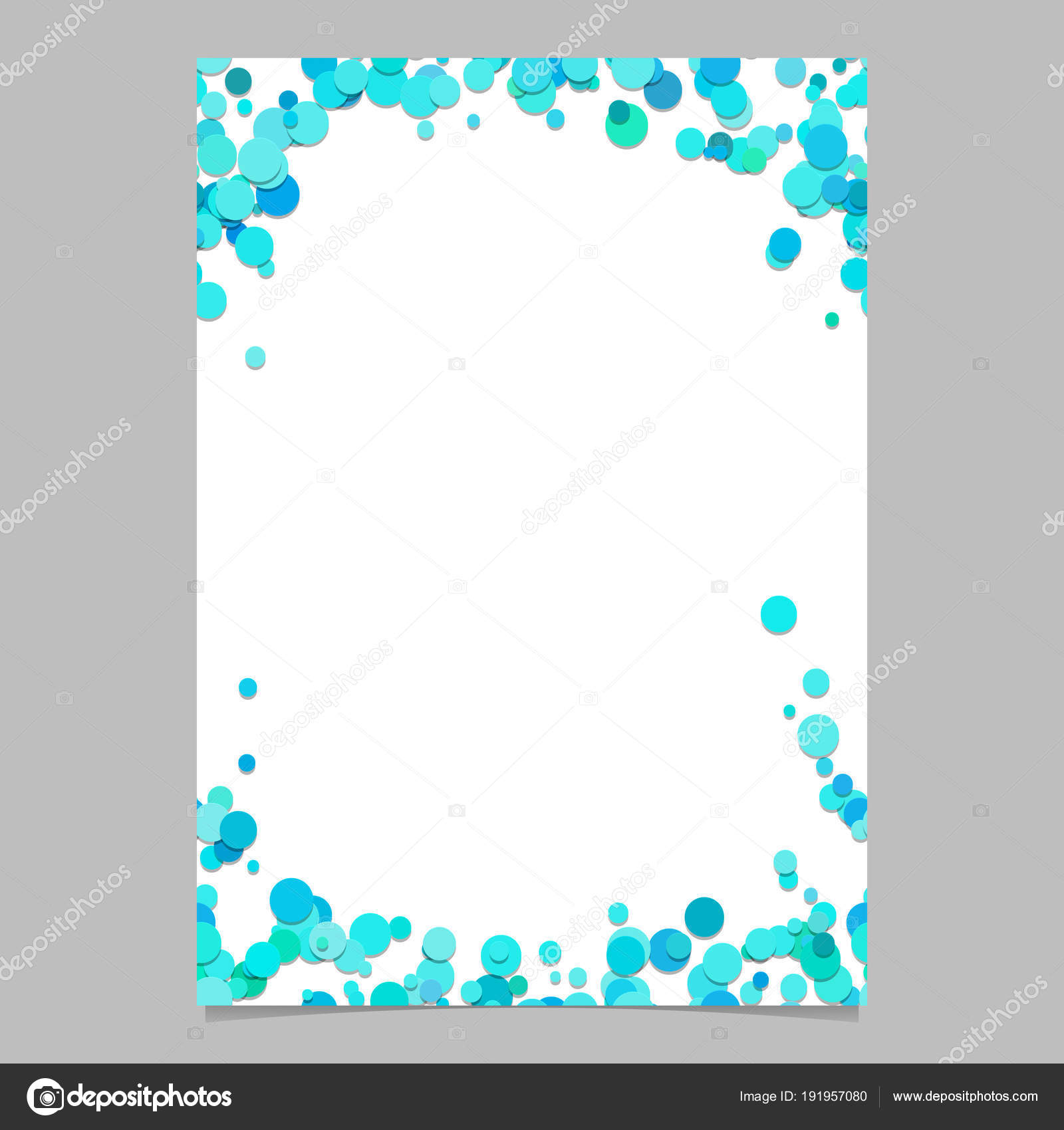 color abstract random dot pattern card background template vector