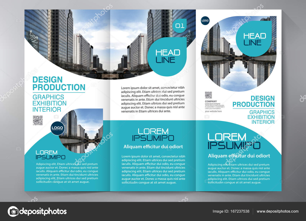 Brochure 3 fold flyer design a4 template stock vector brochure 3 fold flyer design a4 template stock vector saigontimesfo
