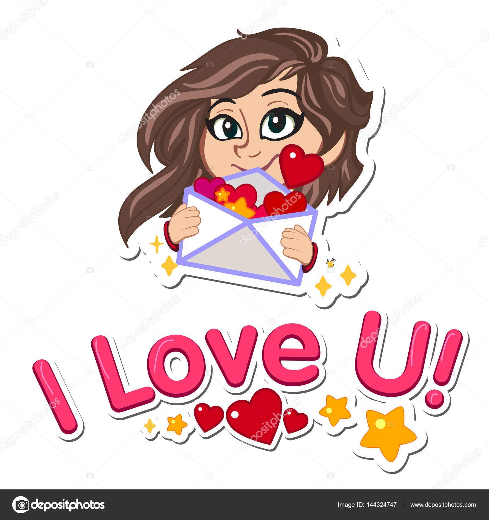 愛するメッセージまたはロマンチックな封筒でウェディング カードの